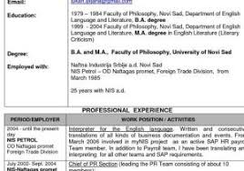 How To Make Resume For Freshers From Resume Samples For Freshers