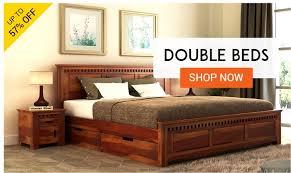 Wooden furniture bed design Price Bedroom Storage Accessories Wooden Street Wooden Bedroom Furniture Buy Bedroom Furniture Online Upto 55 Off
