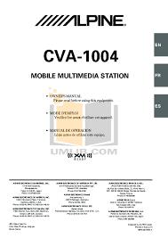 download free pdf for alpine cva 1004 car video manual Battery Isolator Wiring-Diagram at Alpine Cva 1004 Wiring Diagram