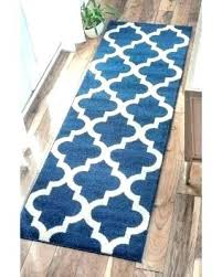 navy blue runner rug rugs home ideas chevron and gray