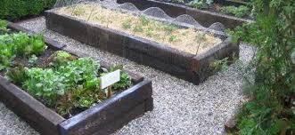 garden design with sleepers
