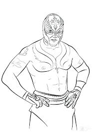 Wwe Colouring Print Coloring Pages Wwe Coloring Pages John Cena
