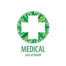 medical logos design green medical health logos design vector 05 free download