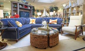 completely new navy blue sectional sofa with white piping gradschoolfairs com jq63