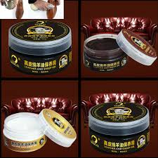 75g leather craft diy pure mink oil cream 75ml for leather bag shoes maintenance