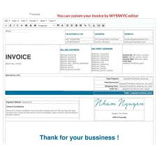 Invoice Style PDF Invoice Template Delivery Custom Number PrestaShop Addons 7