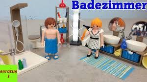 Playmobil Badezimmer 9268 Auspacken Modernes Wohnhaus Seratus1 Youtube