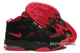 Cheap Priced Nike Air Max Uptempo 2 Black Red Authentic