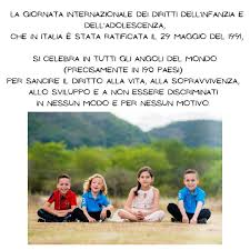 20 novembre 2020 Giornata Mondiale dei diritti dei bambini Ancora oggi  molti b… – Cooperativa L'Infanzia Onlus