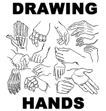 drawing hands how to draw hands and underlying structure