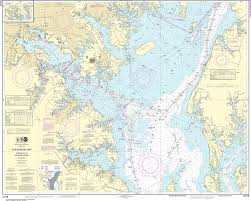 Noaa Nautical Chart 12278 Chesapeake Bay Approaches To Baltimore Harbor
