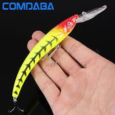 Comdaba <b>1pcs</b> Minnow Lures 15.5 cm 16.5 g <b>Wobbler</b> Fishing Lure ...