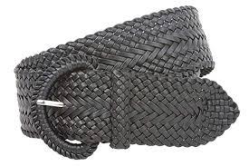 2 Inch Wide Hand Made <b>Soft</b> Metallic <b>Woven Braided</b> Round <b>Belt</b> at ...