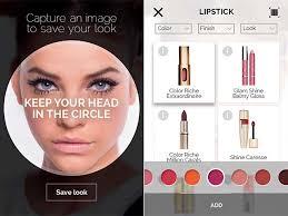 how does the makeup genius app work