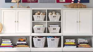 Pottery Barn Wall Shelves Enjoy Sufficient Storage Space With This Kids Storage Unit
