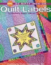 89 best quilt labels images on Pinterest | Tags, Quilt labels and ... & More 50 Nifty Iron-on Quilt Labels from ShopFonsandPorter.com Adamdwight.com
