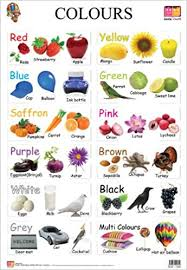 Buy Colours Educational Wall Charts Book Online At Low