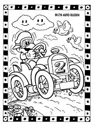 Kleurplaten Mario Auto Brekelmansadviesgroep