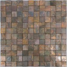 mosaic tiles copper santorini square 3d
