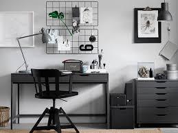 grey home office. Dark Grey Home Office - Ikea \u0027Alex\u0027 Drawer