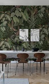 Mischievous Monkeys Lush дизайн дома Tapete Grün Dschungel