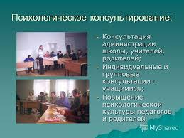 Презентация на тему Профессиональная деятельность педагога  6 Психологическое консультирование Консультация