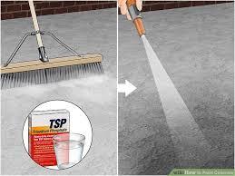 image titled paint concrete step 2