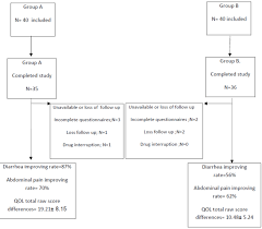 Pathophysiology Of Diarrhoea In Flow Chart Efficacy Of Adding Luvos Healing Earth Supplementation To