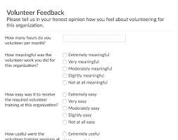 Volunteer Satisfaction Survey Template Customer Satisfaction Survey Template Emailmeform