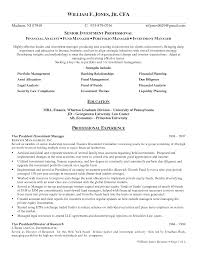 Classy Fund Manager Resume Examples With Additional It Asset Manager