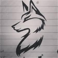 tribal wolf drawings in pencil. Modren Tribal Wolf Tattoo Idea On Tribal Drawings In Pencil L