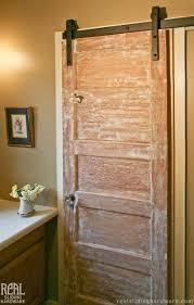 sliding bathroom doors. Barn Door Hardware Rustic-bathroom Sliding Bathroom Doors