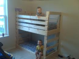 diy bunk bed beds with slide ladder cover plans twin over full diy bunk bed