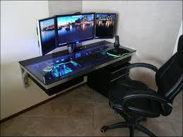 gaming computer desk. Beautiful Desk Best Custom Pc Gaming Computer Desk Ideas With T