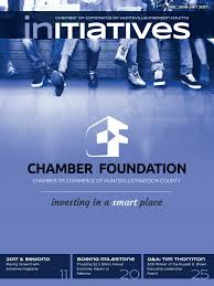 Initiatives Magazine December 2016 January 2017 By Chamber Of