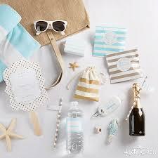 how to make easy diy beach wedding welcome bags kate aspen blog