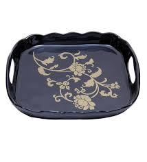 Decorative Metal Serving Trays Buy Anasa Decorative Metal Serving Tray Online Metalware 32