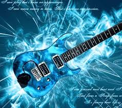 blue electric guitar wallpaper images pictures becuo