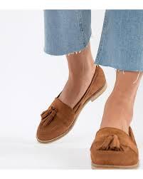 Asos Design Messenger Suede Tassel Loafers Messenger Suede Tassel Loafers