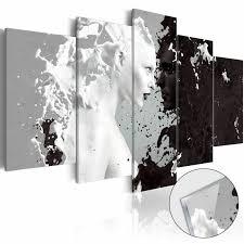 Acrylglasbild Modern Bild H B 0054 K M Abstrakt Schwarz Weiß