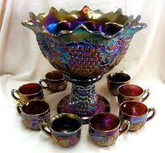 antique carnival glass pattern antiques center