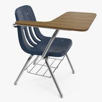 school chair.  Chair School Desk Chair 3D Model Inside School Chair