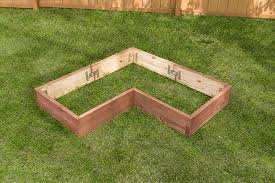 building a garden bed. How To Build An L-Shaped Raised Garden Bed Building A O