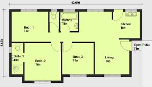 free floor plans.  Plans House Plan Pl0002 Floorplan For Free Floor Plans W
