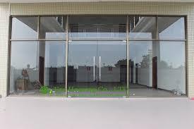 glass door. Frameless Glass Door 03 O