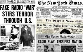the war of the worlds panic was a myth how the newspapers reported the broadcast