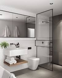 Bathroom, Awesome Compact Bathroom Designs Home Ideas With Sink And Mirror  And Toilet And Shower