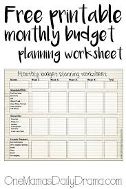 Best Solutions of How To Manage Your Money Worksheets About Free ...
