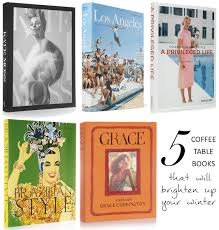 five fabulous coffee table books to