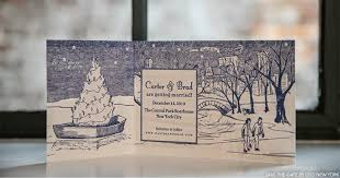 Winter Wedding Save The Date A Simple Cake